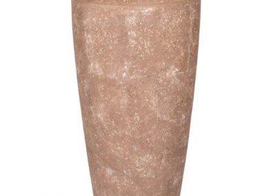 Light Stone - Tall Vase- Mountain Brown